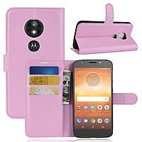 Чехол-книжка Litchie Wallet для Motorola Moto E5 Play XT1921 Светло-розовый