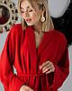 Женский брючный костюм красный SM, LXL, фото 5