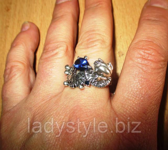 купити кільце перстень у вигляді жаби оберіг жаба натуральний перли купити дарунок талісман сувенір натуральні камені