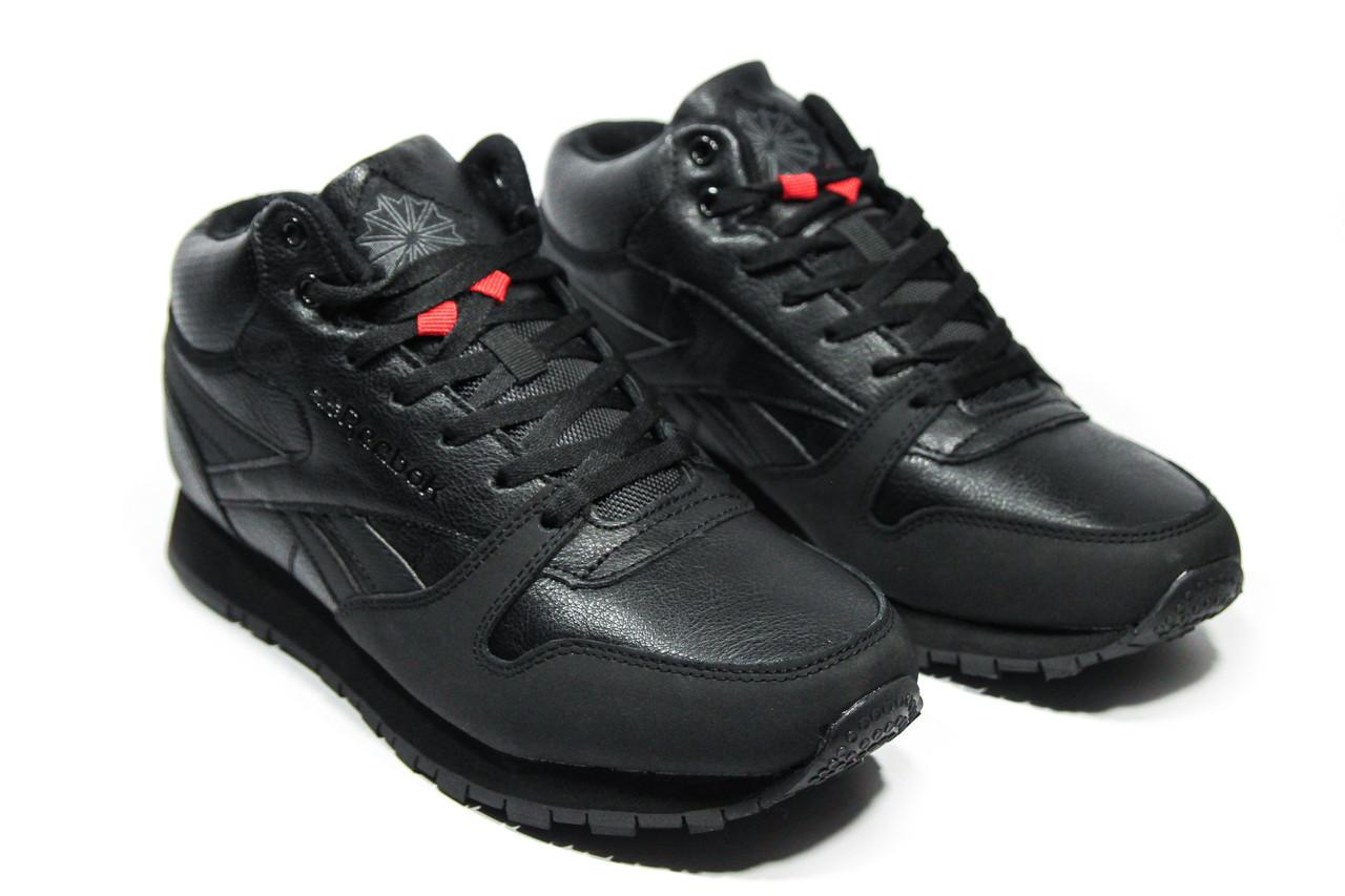 a475fe02 Зимние ботинки (НА МЕХУ) мужские Reebok Classic (реплика) 2-160 ...