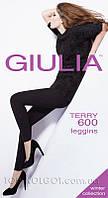 Леггинсы тёплые с хлопком GIULIA Terry 600 leggins