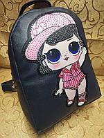 Женский рюкзак искусств кожа love moschino качество городской стильный Популярный только опт, фото 1