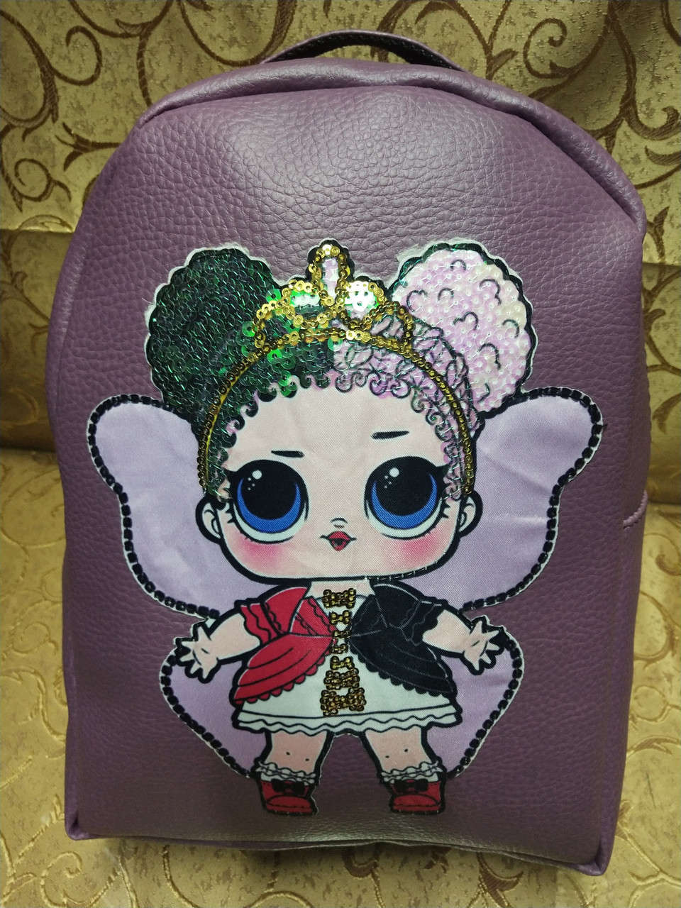 Женский рюкзак искусств кожа love moschino качество городской стильный Популярный только опт