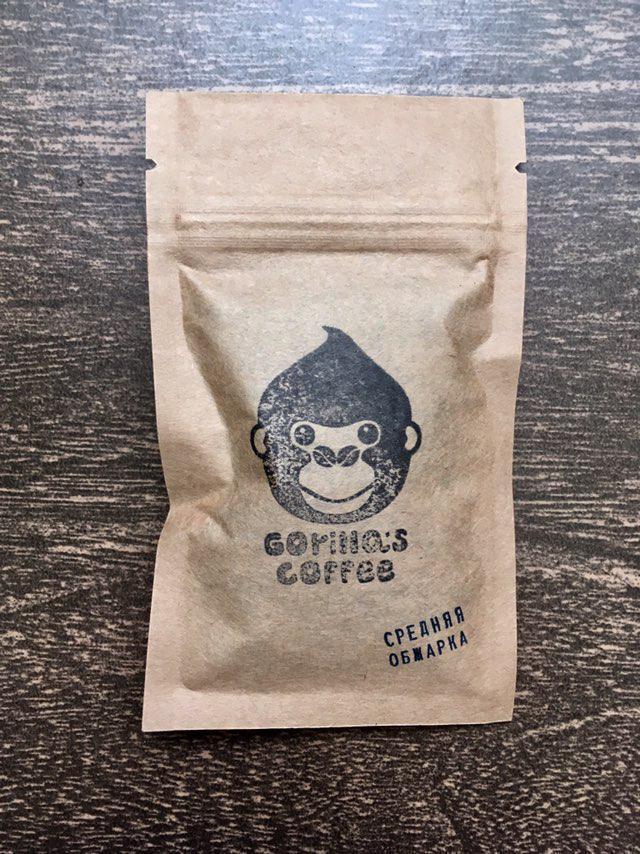 Кофе молотый 40г Gorillas Coffee (пробник)