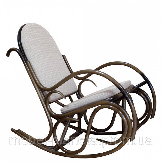 Кресло-качалка «Олимп» из ротанга