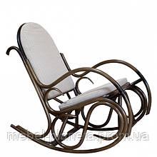 Крісло-гойдалка «Олімп» з ротанга