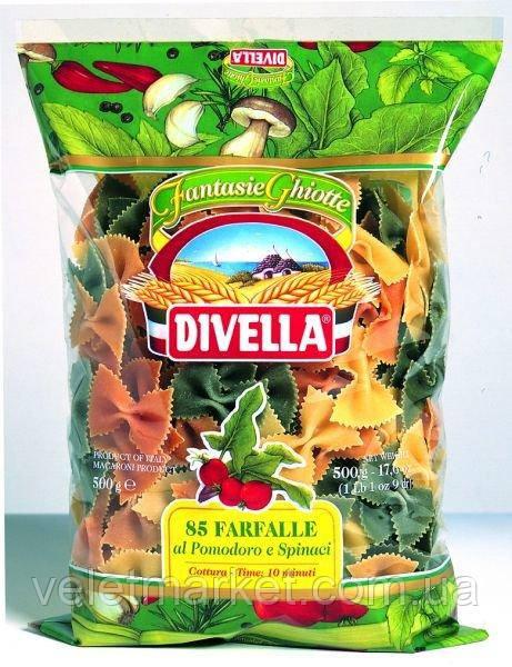 Макарони Farfalle al pomodoro e spinaci 500 г