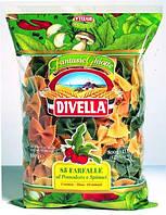 Макароны Farfalle al pomodoro e spinaci 500 г
