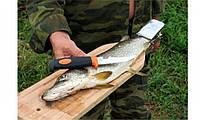 Доска для разделки рыбы с зажимом (бук), фото 2