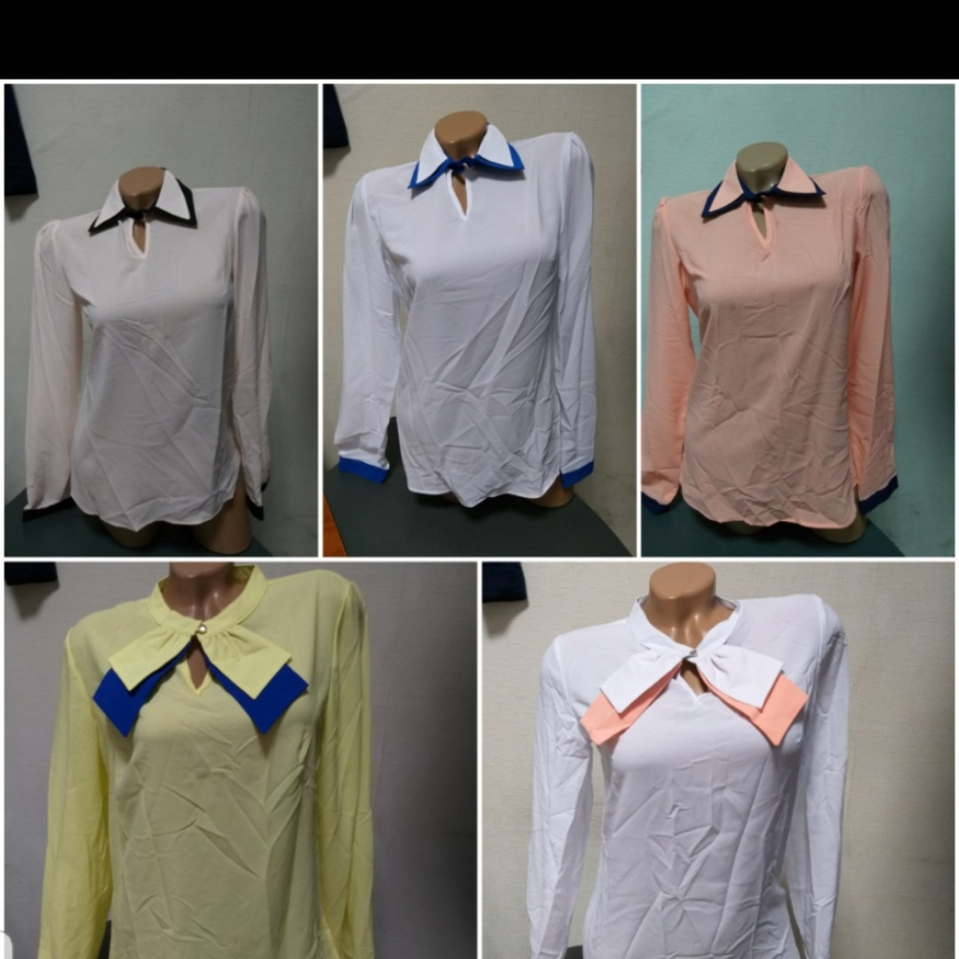 Блузы и рубашки оптом