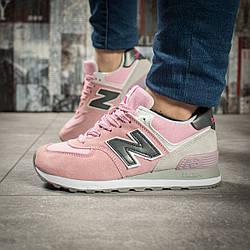 Кроссовки женские New Balance 574 розовые 15723