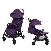 Детская прогулочная коляска CARRELLO Pilot CRL-1418 Purple Iris с дождевиком