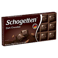 Шоколад Schogetten черный без наполнителей 100 г