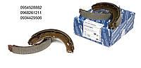 Колодки ручника VW Crafter / MB Sprinter 06- (с пружинками) MEYLE (Германия)
