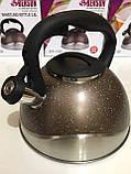 Чайник со свистком-Нерж-3л BENSON BN-716 (12 шт), фото 2