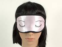 Глазки закрывай цвета в ассортименте / Маска  для сна 20x10 см