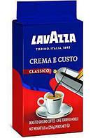 Кофе Lavazza Crema e Gusto classico молотый 250 г Италия