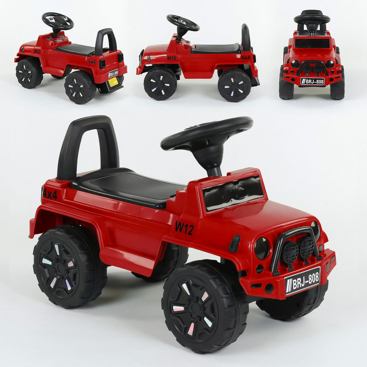 Машина-Толокар 808 G-8207 JOY Красный Гарантия качества Быстрая доставка