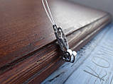 Серебряные дизайнерские серьги в стиле Сartie(Картье), фото 7