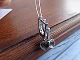 Серебряные дизайнерские серьги в стиле Сartie(Картье), фото 4