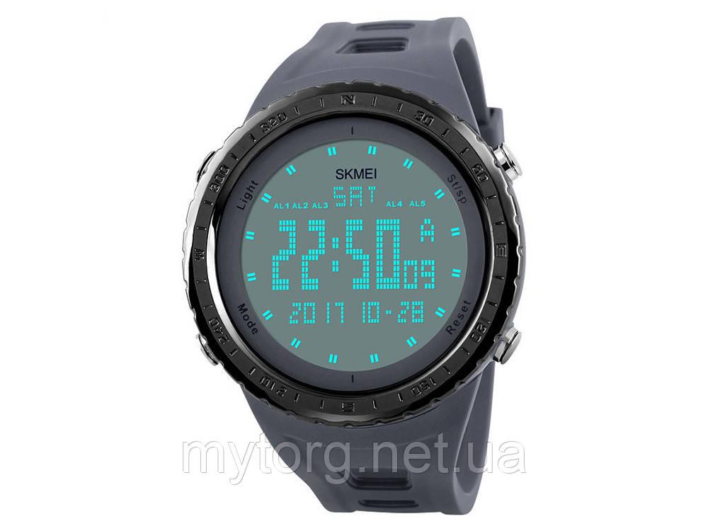 Водонепроницаемые спортивные мужские часы Skmei  Серый