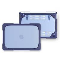 Чехол пластиковый для MacBook Air 13.3 Pro 13 2017 18 Blue, КОД: 396210
