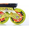 Раздвижные роликовые коньки Tempish Nerrow 4 зеленые  31-34, фото 6