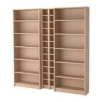 Стеллаж IKEA BILLYGNEDBY 200x202x28 см Светло-коричневый 292.499.53, КОД: 386152