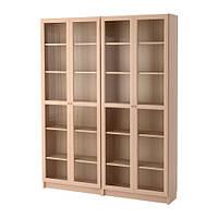 Стеллаж IKEA BILLY OXBERG Светло-коричневый 492.499.66, КОД: 386149