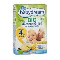 Babydream  Bio Milchbrei Grieß - Органическая манная каша после 4-го месяца 250 г