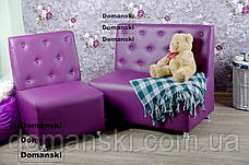 Диван и кресло комплект, для салона, парикмахерской, для студии., фото 2