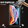 Защитное стекло (6D) Black для iPhone X / XS / 10 черный, фото 2