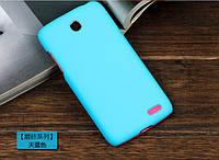 Чехол накладка бампер для Lenovo A516 голубой