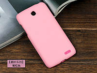 Чехол накладка бампер для Lenovo A516 розовый, фото 1