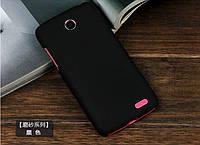 Чехол накладка бампер для Lenovo A516 чёрный