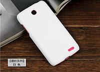 Чехол накладка бампер для Lenovo A516 белый