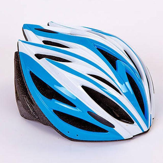 Шлем защитный с механизмом регулировки (L-54-56) SK-5612, голубой