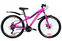 """Горный велосипед 26"""" Formula ELECTRA AM 14G DD St с крылом Pl 2019 (розовый)"""