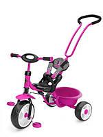 Велосипед Milly Mally Boby с подножкой розовый