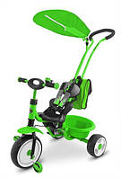 Велосипед Milly Mally Boby Deluxe Green зеленый