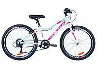"""Велосипед 24"""" Formula ACID 1.0 14G Vbr Al 2019 (бело-малиновый с голубым)"""