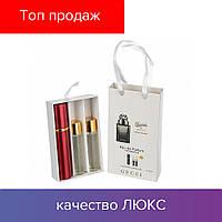 45 ml ( 3x15 ) Gucci by Gucci Pour Homme. Eau de Parfume | Женские духи с феромонами, мини набор, парфюмы