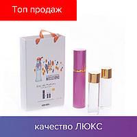 45 ml ( 3x15 ) Moschino Cheap & Chic. Eau de Parfume | Женские духи с феромонами, мини набор, парфюмы