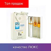 45 ml ( 3x15 ) Versace Man Eau Fraiche. Eau de Parfume | Женские духи с феромонами, мини набор, парфюмы