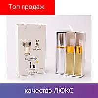 45 ml ( 3x15 ) Yves Saint Laurent YSL L'Homme. Eau de Parfume | Женские духи с феромонами, мини набор, парфюмы