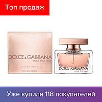 75 ml Dolce & Gabbana D&G Rose The One. Eau de Parfum | Парфюмированная вода Дольче Габбана Зе Ван Роуз 75 мл ЛИЦЕНЗИЯ ОАЭ
