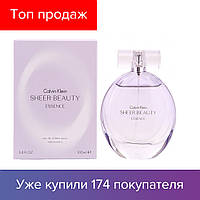 5e98f895db105 100 ml Calvin Klein Sheer Beauty Essence. Eau de Toilette |Туалетная вода  Кельвин Кляйн