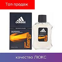 100 ml Adidas deep Energy.  Eau de Toilette   | Туалетная вода Адидас Дип Энерджи 100 мл