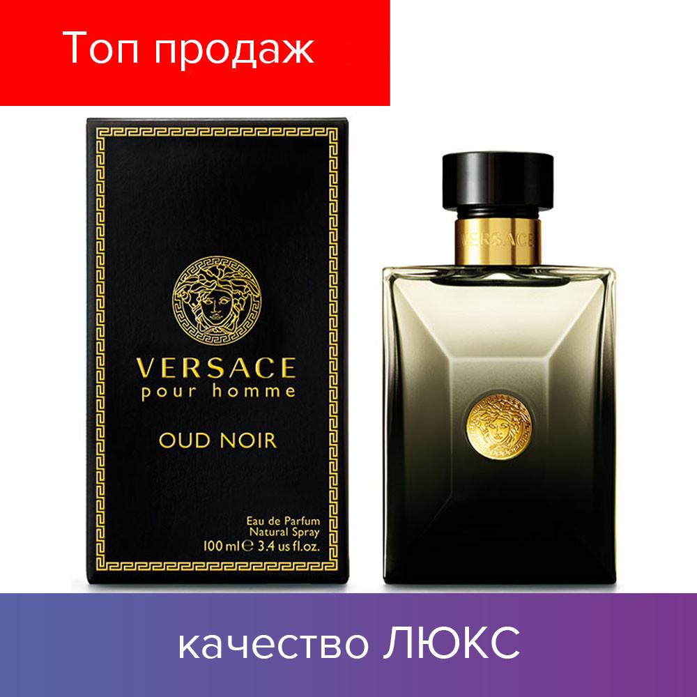 100 ml Versace Pour Homme Oud Noir. Eau de Parfum | Парфюмированная Вода Версаче Пур Хом Ауд Ноар 100 мл