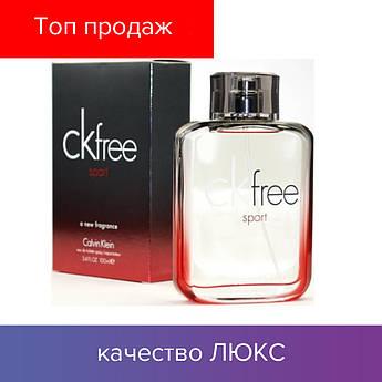 100 ml Calvin Klein CK Free. Eau de Toilette   | Туалетная вода Кельвин Кляйн СК Фри 100 мл